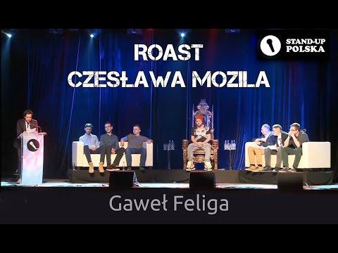 Gaweł Feliga - Roast Czesława Mozila (IV Urodziny Stand-up Polska)