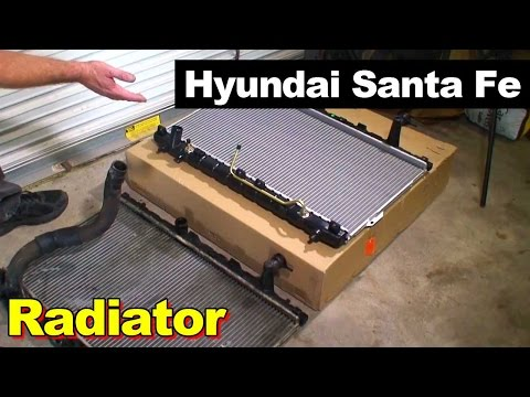 2003 Hyundai Santa Fe Radiator Replacement