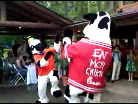 Chick-fil-A Cows  Thriller Dance