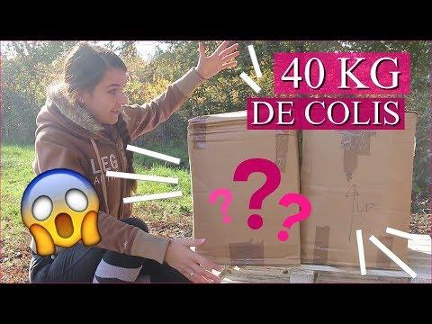 OUVERTURE DE 40 KG DE COLIS !!! - Unboxing