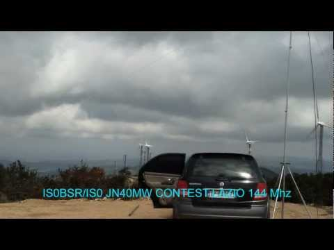 IS0BSR/IS0 CONTEST LAZIO 144 MHZ - 2012