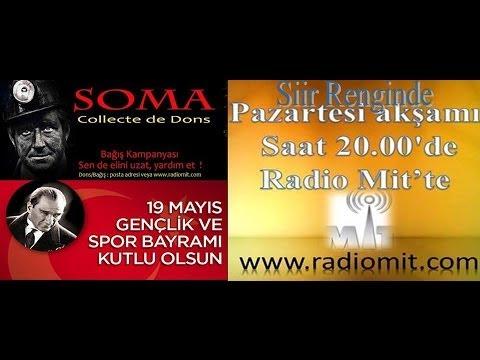 Radio Made In Turkey - Siir Renginde (19.05.2014) PART 1