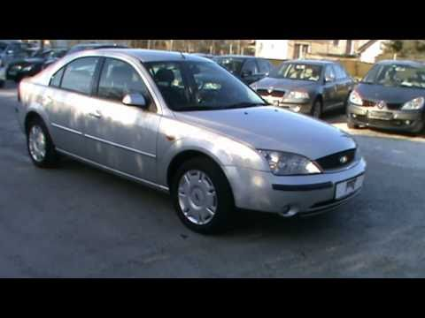 2001 Ford Mondeo 2.0i TRENDLINE Review.Start Up. Engine. and In Depth Tour