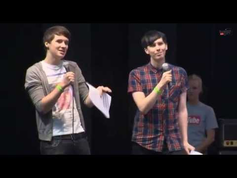 Dan and Phil - The Youtube Awards (Summer in the City 2014)