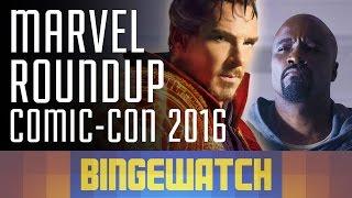 Doctor Strange, The Defenders, Legion, Luke Cage and Iron Fist - Marvel Comic-Con Trailer Roundup