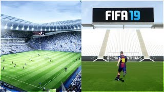 NEW OFFICIAL STADIUMS IN FIFA 19