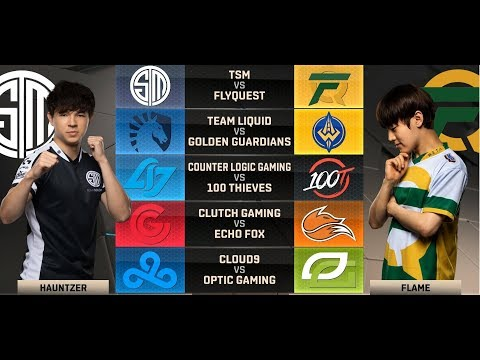 NA LCS Highlights ALL GAMES Week 1 Day 2 Summer 2018
