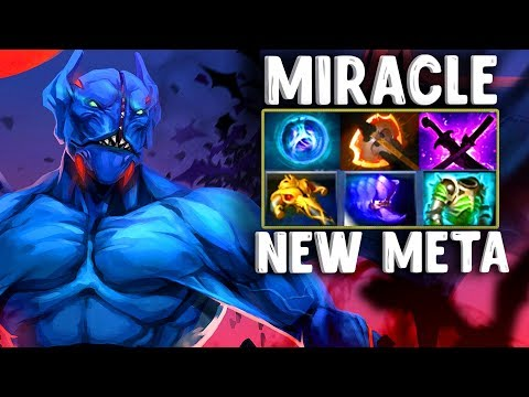 МИРАКЛ НОВАЯ МЕТА СТАЛКЕР КЕРИ - NIGHT STALKER CARRY MIRACLE DOTA 2