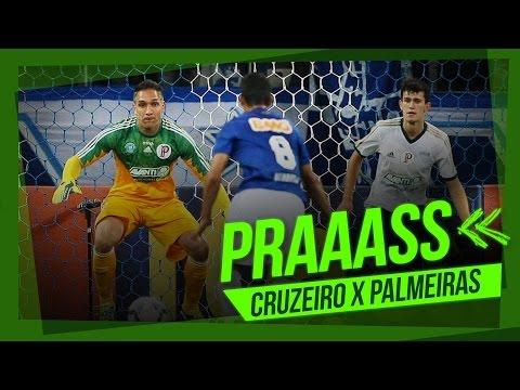 Em 20 segundos, cinco incríveis defesas de Fernando Prass contra o Cruzeiro