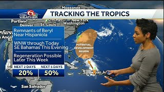 Tracking the Tropics 7/10/18: Watching Chris, remnants of Beryl