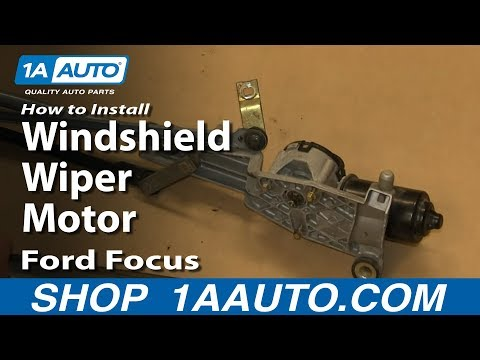How to replace a 2007 ford explorer rear windshield wiper for How do you replace a windshield wiper motor
