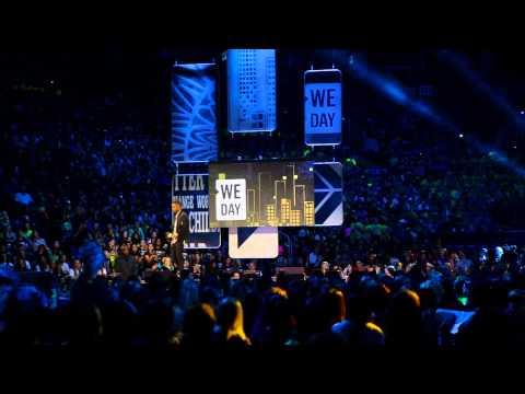 Big Sean Speaks at WeDay Toronto 2014