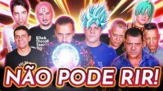 NÃO PODE RIR! - DRAGON BALL c/ Wendel Bezerra, Tânia Gaidarji, Felipe Grinnan, Wellington Lima e ...