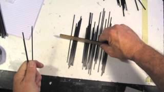 TINY TIPS HOW TO SORT A GROUP OF CARBON FIBER RODS OF VARIOUS DIAMETERS