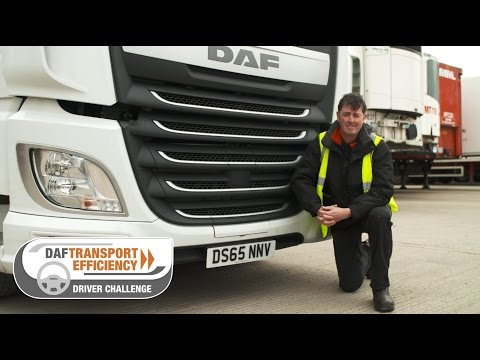 DAF Transport Efficiency Driver Challenge - Meet the Finalists: Gary Furber