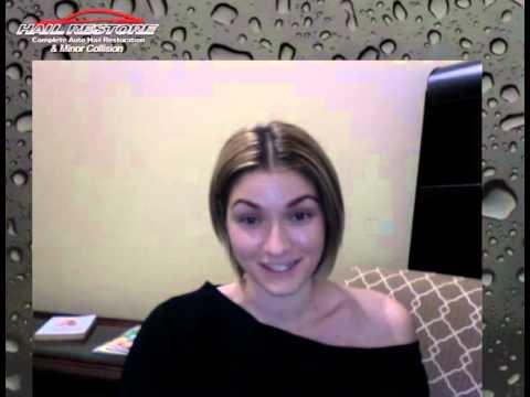 Sara's Hail Restore Testimonial