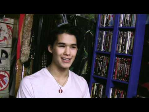 Booboo Stewart on Why He Loves Movies