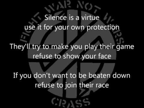 Crass - Big A Little A