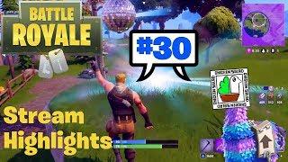 Fortnite Battle Royale – Stream highlights #30