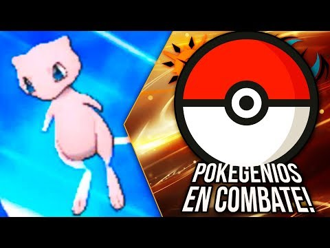 "POKÉMON ULTRASOL & ULTRALUNA: POKEGENIOS EN COMBATE ¡CUIDADO! ¡MEW ""DOUBLE DANCER""!"