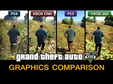 GTA 5 Graphics Comparison - PS4 / Xbox One / PS3 / Xbox 360