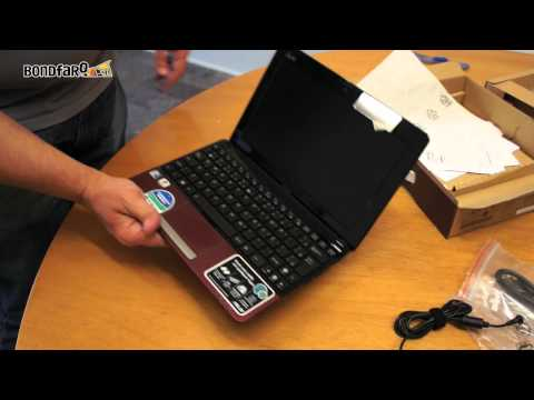 Asus Eee PC 1015PEM - Unboxing