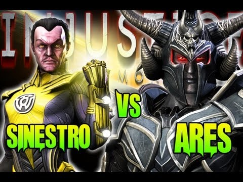 Injustice - What If Battle - Sinestro Vs Ares