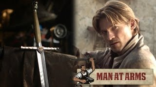 Jaime Lannister's Sword (Game of Thrones) - MAN AT ARMS