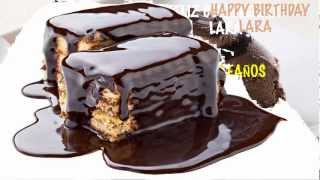 Lara - chocolate - Happy Birthday