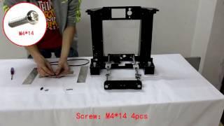 A6 assembly    3d printer assemble