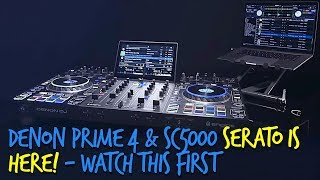 NEW: Serato Now Works With Denon DJ Prime 4 & SC5000 - All The Details
