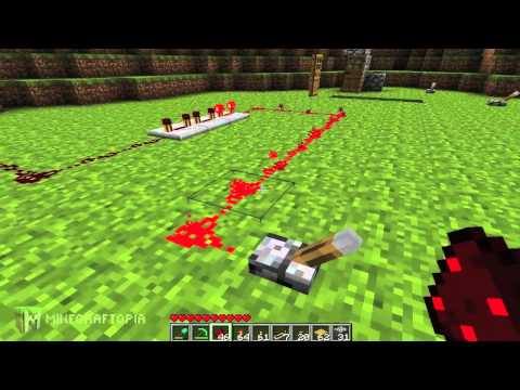Minecraft Tutorial: Basic Redstone Circuits (Minecraftopia) Music Videos