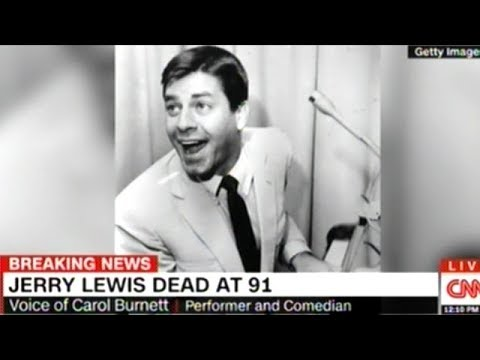 Carol Burnett Fondly Remembers Jerry Lewis