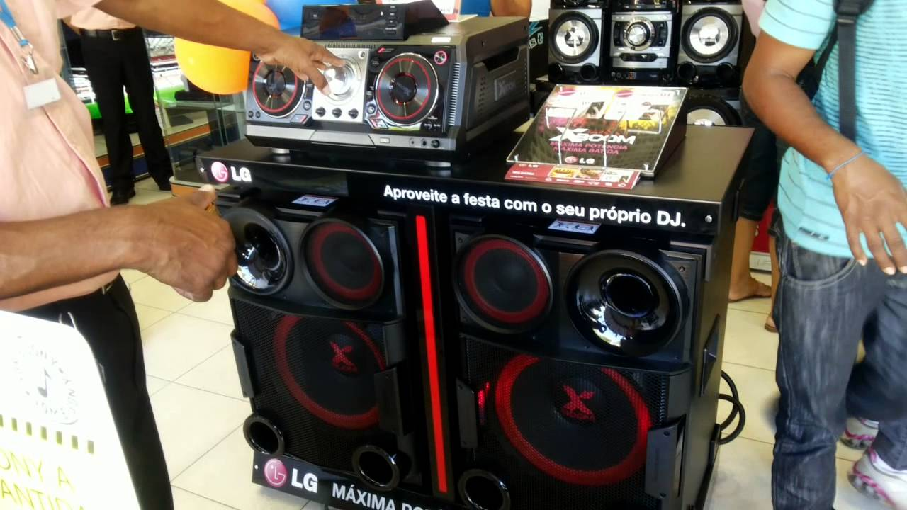 novo mini system lg x boom cm9730 com 2000 watts rms de. Black Bedroom Furniture Sets. Home Design Ideas