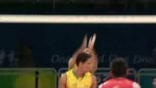 China vs Brazil - Men's Volleyball - Beijing 2008 Summer Olympic Games