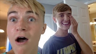 Surprising My Little Brother For His Birthday