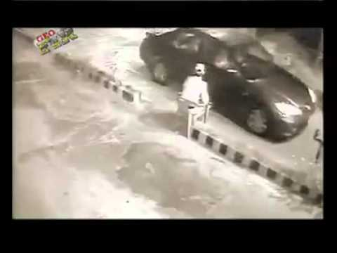 Cctv Footage Of Killing Security Guard In Karachi video