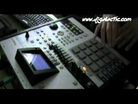Beat making Video - Roland MV 8800