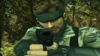 PS Vita - Metal Gear Solid 3_ Snake Eater Gameplay