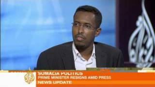 Somalia's prime minister resigns