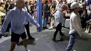 JHKTV]홍대댄스전디오비hong dae k-pop dance former dob 불타오르네