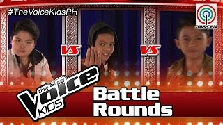 "The Voice Kids Philippines Battle Rounds 2016: ""Doo Bidoo"" by Miguel, Arnie & Bernard"