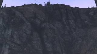 GTA 5 Cable Car Ride to the top of the Mountain