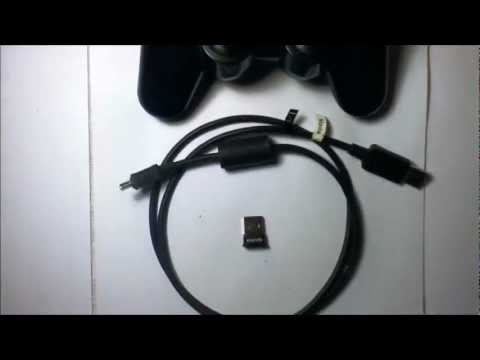 Connect PS3 controller to PC wireless bluetooth