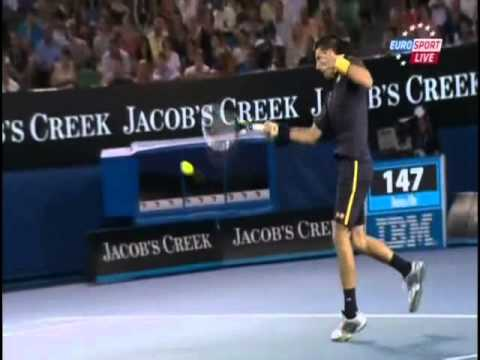 Novak Djokovic vs David Ferrer - Australian Open 2013 (Semifinal)