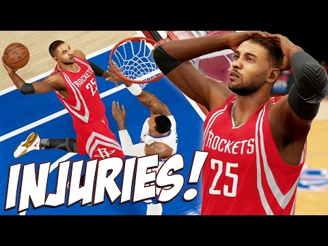 NBA 2K15 MyCareer Playoffs #62 - The Basketball Gods Hate Us, ... More Injuries!