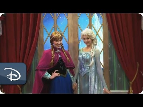 Frozen  Meet & Greet Debuts at Epcot | Walt Disney World | Disney Parks