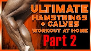 STEP UP YOUR LEG GAME! Quads: ULTIMATE Workout at Home! Pt. 2