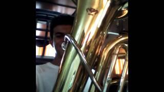 Instrumento Tuba Alexandre Batista