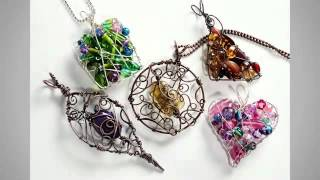 Organic Wire-Wrapped Pendants - Craftsy Class Trailer